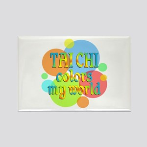 Tai Chi Colors My World Rectangle Magnet