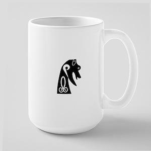 Pictish Dog,w Mugs