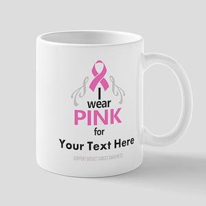 Personal Pink Mugs