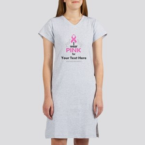 Personal Pink Women's Nightshirt