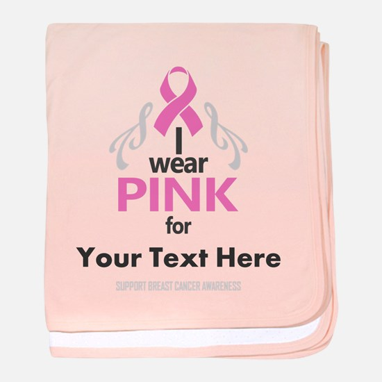 Personal Pink baby blanket