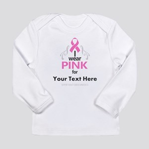 Personal Pink Long Sleeve T-Shirt