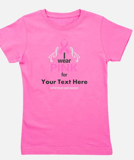 Personal Pink Girl's Tee