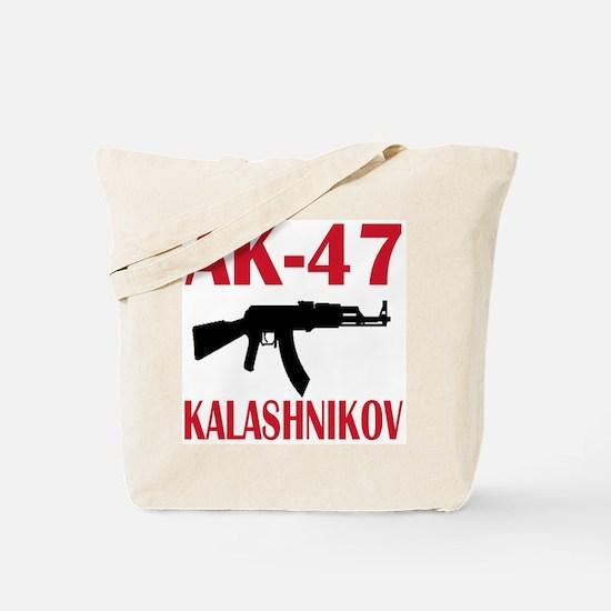 AK 47 Kalashnikov Tote Bag