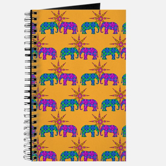 Cute Colorful elephant Journal