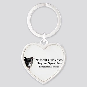 Without Our Voice Keychains