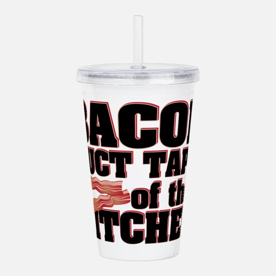 Bacon - Duct Tape Acrylic Double-wall Tumbler