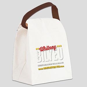 Transparent Logo Canvas Lunch Bag