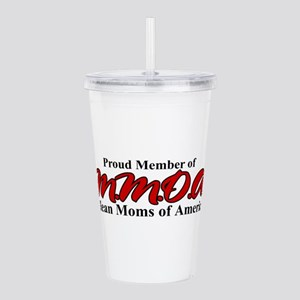 meanmoms Acrylic Double-wall Tumbler