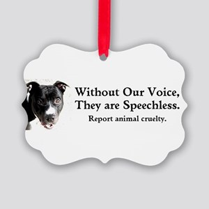 Without Our Voice Ornament