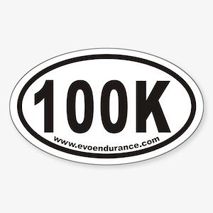 100k Www.evoendurance.com Oval Sticker