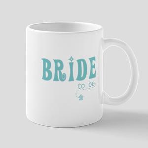 Bride to Be Teal Mug