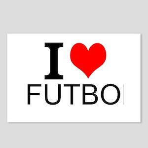 I Love Futbol Postcards (Package of 8)