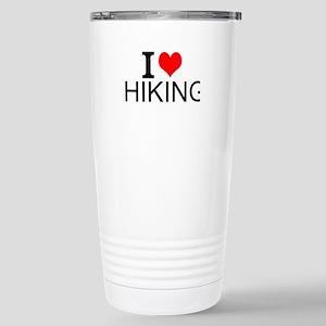 I Love Hiking Travel Mug