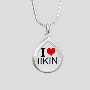 I Love Hiking Necklaces