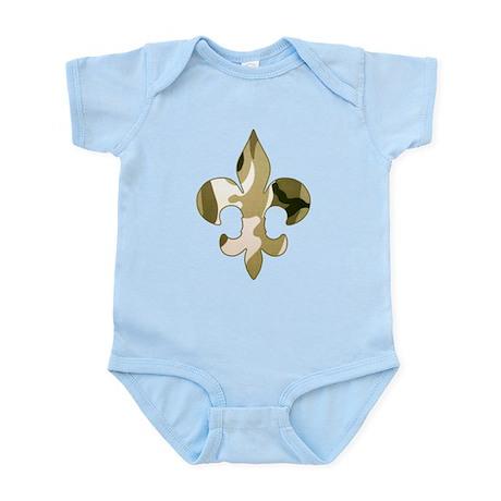 Fleur de lis Camo Infant Bodysuit