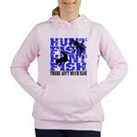 hunt fish.png Women's Hooded Sweatshirt