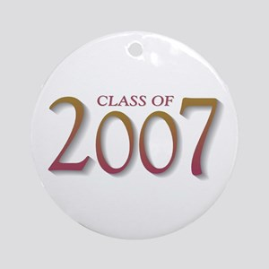 Class of 2007 Ornament (Round)