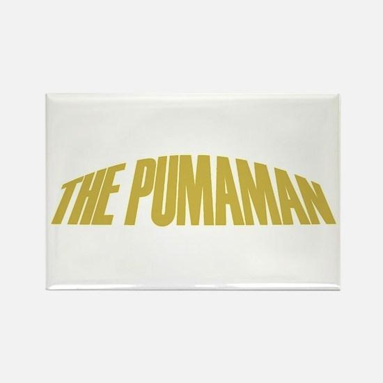 Pumaman Rectangle Magnet