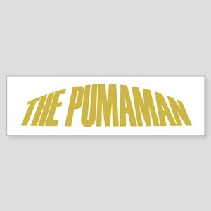 Pumaman Bumper Sticker