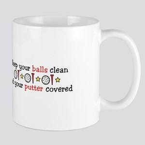 Putter Covered Mugs