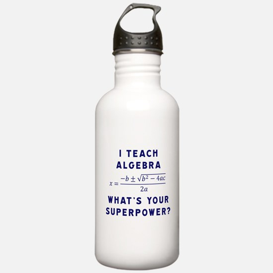 Unique Math teacher Water Bottle
