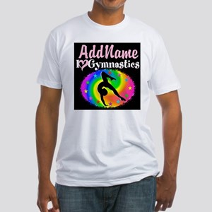 TOP NOTCH GYMNAST Fitted T-Shirt