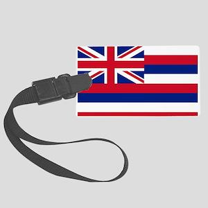 Flag of Hawaii Large Luggage Tag