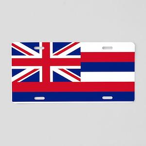 Flag of Hawaii Aluminum License Plate