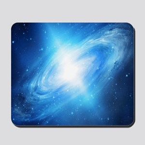 Blue Galaxy Mousepad