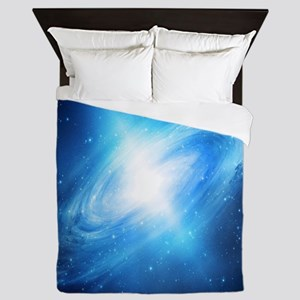 Blue Galaxy Queen Duvet