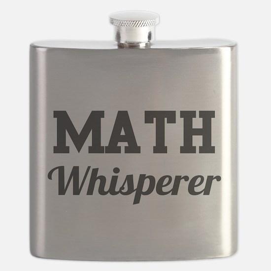 Math whisperer Flask