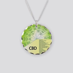 Cbd Necklace Circle Charm