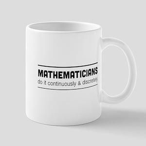 Mathematician do it Mugs