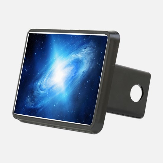 Blue Galaxy Hitch Cover