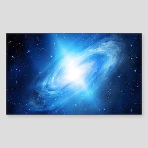 Blue Galaxy Sticker