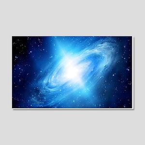 Blue Galaxy Wall Decal