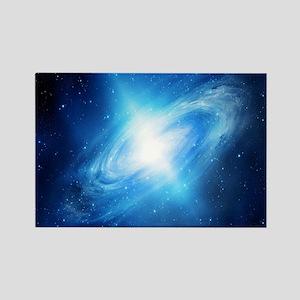 Blue Galaxy Magnets