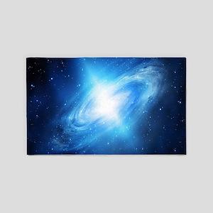 Blue Galaxy 3'x5' Area Rug