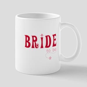 Bride to Be Red Mug