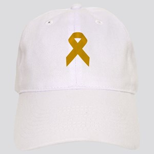 Gold Awareness Ribbon Cap