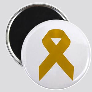 Gold Awareness Ribbon Magnet