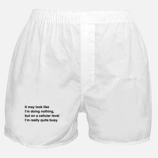 Cells are busy Boxer Shorts