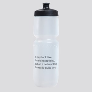 Cells are busy Sports Bottle