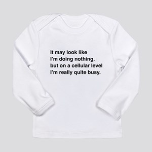 Cells are busy Long Sleeve T-Shirt
