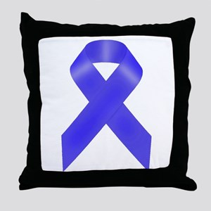 Awareness Ribbon Throw Pillow