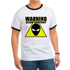 Warning Alien Content T