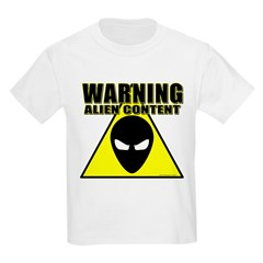 Warning Alien Content T-Shirt