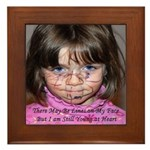 Young at Heart Framed Tile