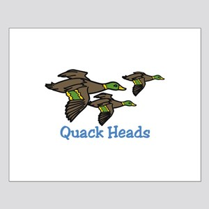 Quack Heads Posters